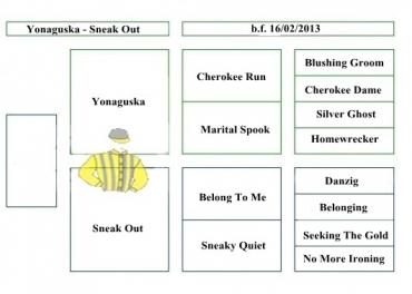 Yonaguska - Sneak Out - 2013